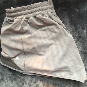 rare gray lululemon shorts!!